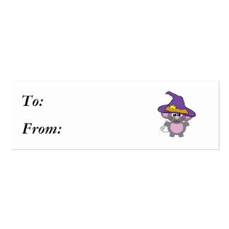 ratón witchy de los goofkins tarjetas de visita mini