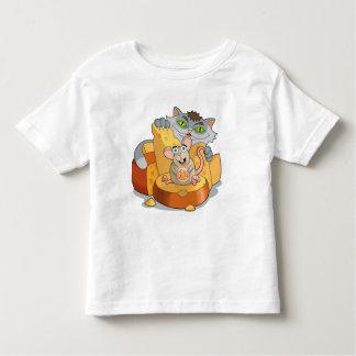 Ratón y gato camiseta