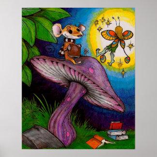 Ratón y hada póster