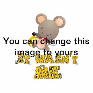 Ratón y queso. escultura fotografica