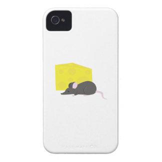 Ratón y queso iPhone 4 carcasa