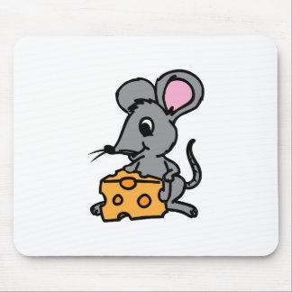 Ratón y queso alfombrillas de raton