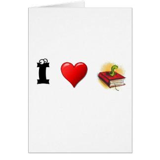 Ratones de biblioteca del corazón I Tarjetón