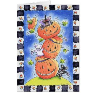 Ratones de Halloween Tarjeta De Felicitación