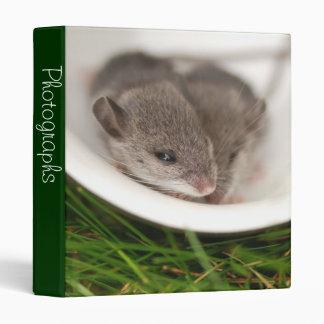 """Ratones del bebé de Naptime 1"""" álbum de foto"""