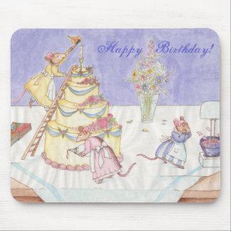 Ratones del cumpleaños alfombrillas de ratón