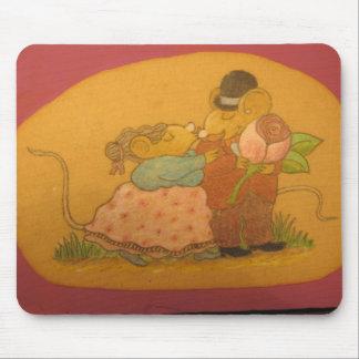 ratones del marido y de la esposa en amor alfombrilla de raton