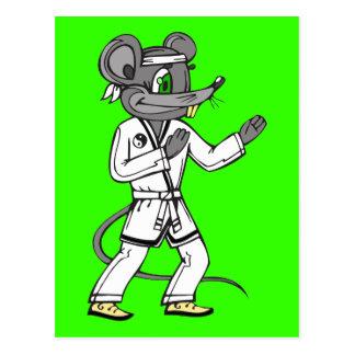 Ratones del ratón de los artes marciales postal