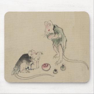 Ratones en consejo tapete de ratones