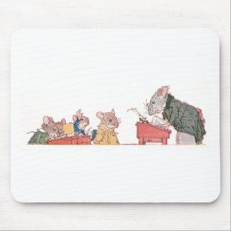Ratones en la escuela tapetes de ratón