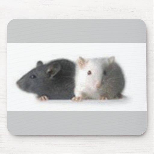 ratones en mousepad alfombrilla de ratón