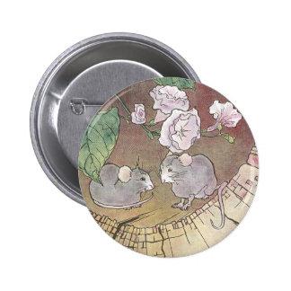 Ratones en registro con los rosas pins