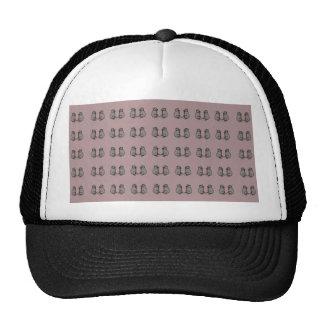 ¡Ratones! patente rosado Gorras
