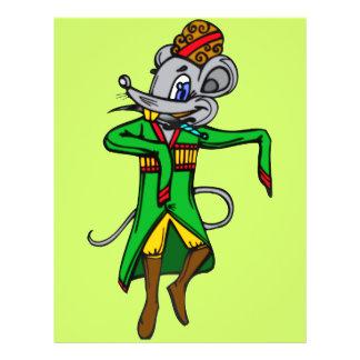 """Ratones rusos del ratón folleto 8.5"""" x 11"""""""