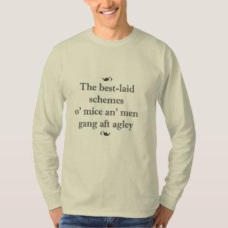 Ratones y camiseta de los hombres remeras