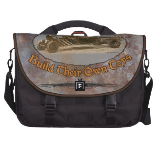 Ratrod Truck Rusty Metal Bag For Laptop