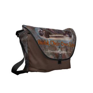 Ratrod Truck Rusty Metal Messenger Bags