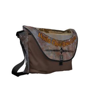 Ratrod Truck Rusty Metal Messenger Bag