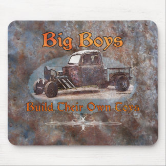 Ratrod Truck Rusty Metal Mouse Pad