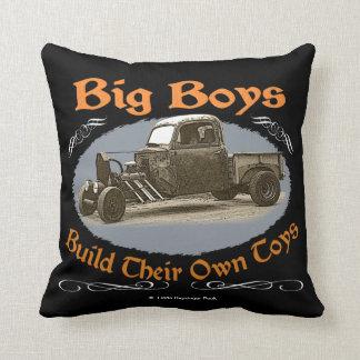 Ratrod Truck Throw Pillow