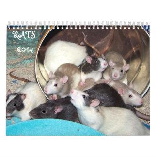 Rats 2014 Calendar B