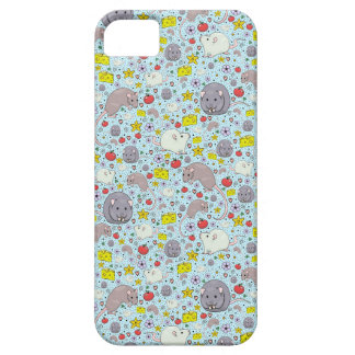 Rats and Mice in Blue iPhone SE/5/5s Case