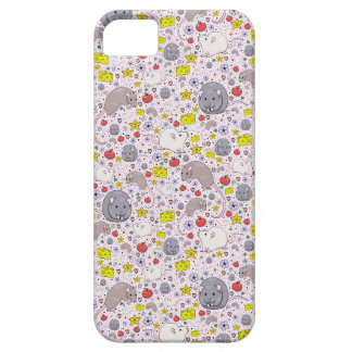 Rats and Mice in Pink iPhone SE/5/5s Case