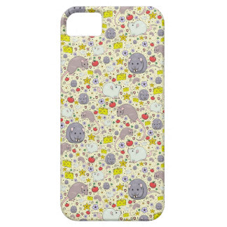 Rats and Mice in Yellow iPhone SE/5/5s Case