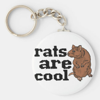 Rats Are Cool Keychains