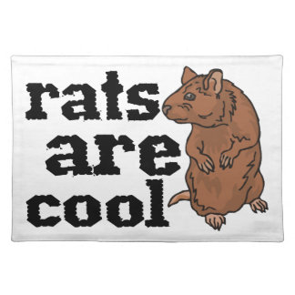 Rats Are Cool Placemats