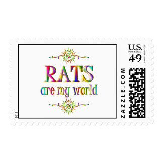 RATS are my world Postage