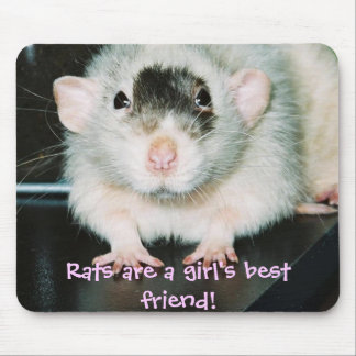Rats best friend! mouse pad
