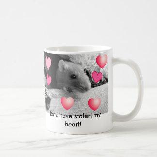 Rats have stolen my heart! coffee mug