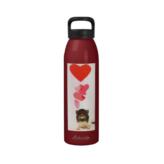 Rats Make a Heart Whole Water Bottle