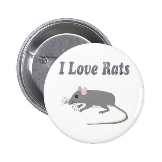 Rats Pinback Button