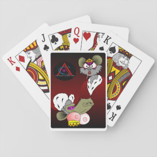 Rats Playing Cards