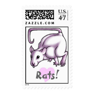 Rats! Postage