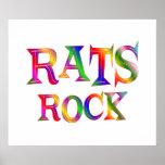 Rats Rock Poster