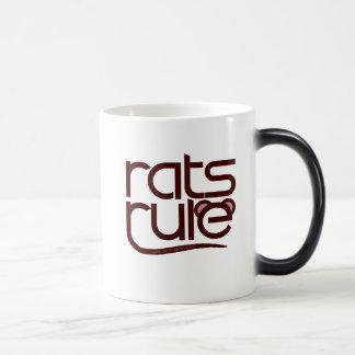 Rats Rule! 11 Oz Magic Heat Color-Changing Coffee Mug