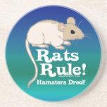 Rats Rule! Beverage Coaster