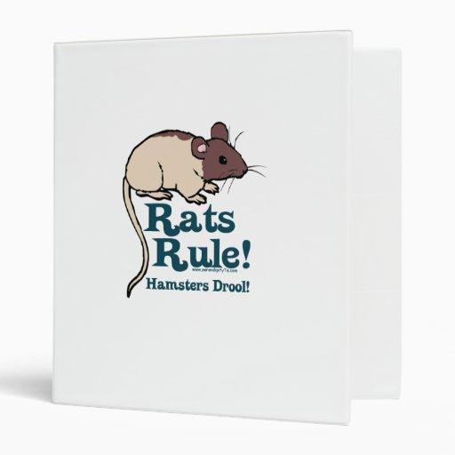 Rats Rule! Binders