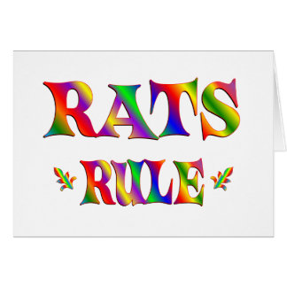 RATS RULE CARDS