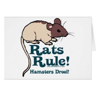Rats Rule Card