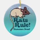 Rats Rule! Christmas Ornaments