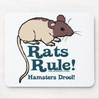 Rats Rule! Mouse Pad