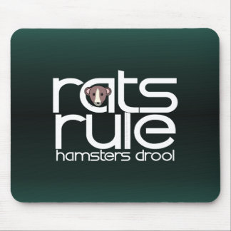 Rats Rule Mouse Pad