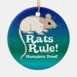 Rats Rule! Ornaments