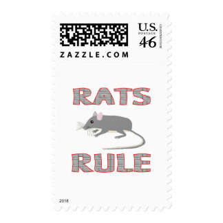 RATS RULE POSTAGE STAMPS