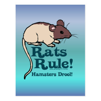 Rats Rule Post Cards