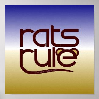 Rats Rule! Print